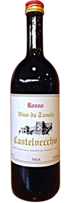 Vino Rosso Castelvecchio